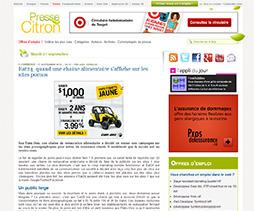 Presse Citron - France